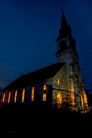 St. Bridget Church At Twilight * West Rutland, Vermont