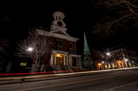 March Evening On Center Street * Rutland, Vermont