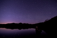Star Reflections On Chittenden Dam
