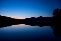 Chittenden Dam After Sunset